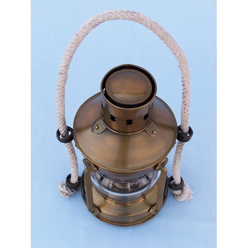 Handcrafted Model Ships Anchor Oil Lantern