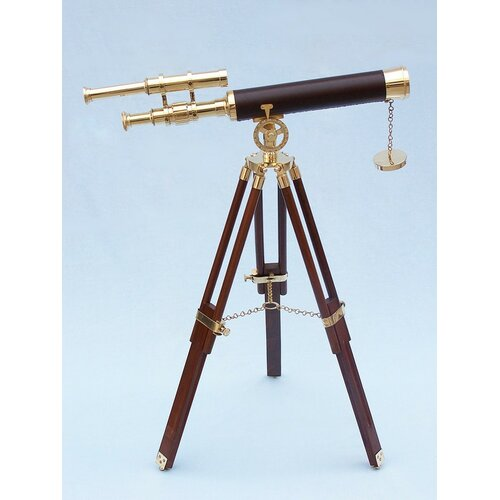 Handcrafted Model Ships Floor Standing Griffith Astro Refractor Telescope