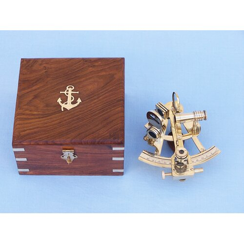 Handcrafted Model Ships Scout's Sextant Sculpture