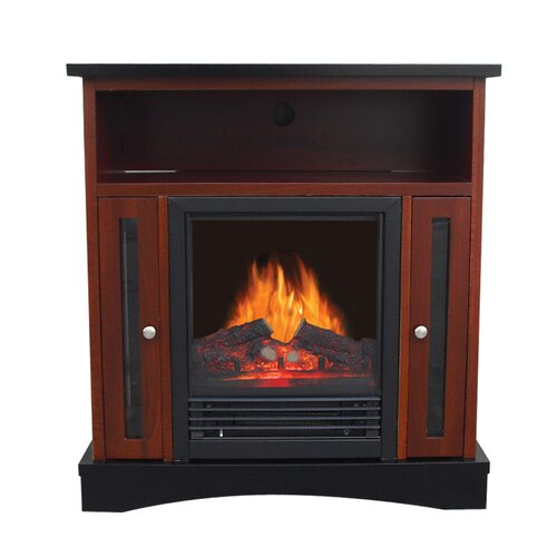 West End Entertainment Center Electric Fireplace