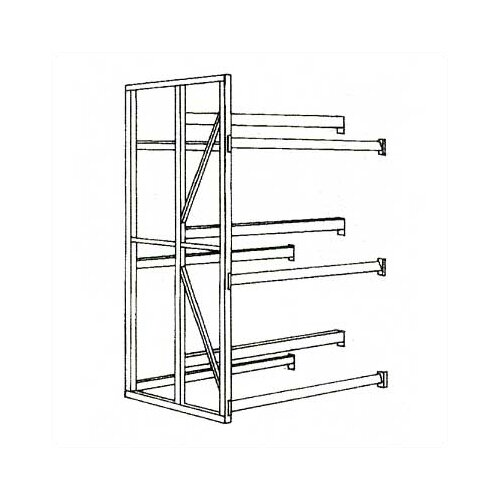 Penco Tire Rack Units - Basic Units, Double Entry