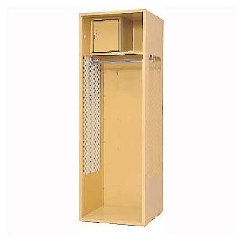 Penco Welded Stadium Locker w/ Shell, Shelf & Security Box