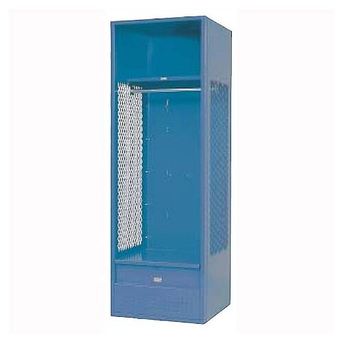 Penco Welded Stadium Locker w/ Shell, Shelf & Foot Locker