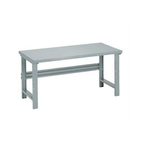 Penco Open Height Adjustable Laminated Maple Hardwood Top Workbench