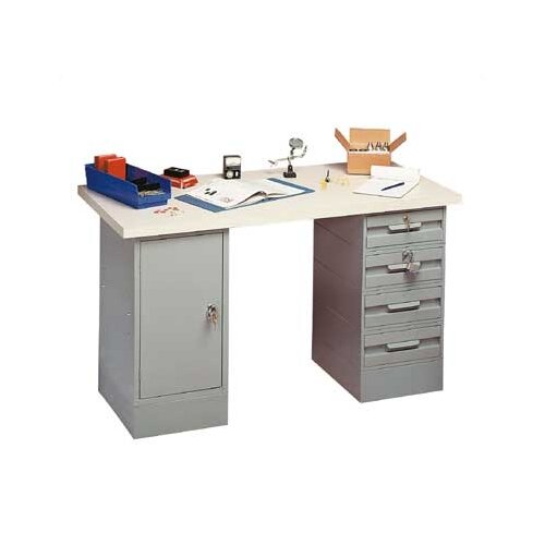 Penco Modular Steel Top Workbench