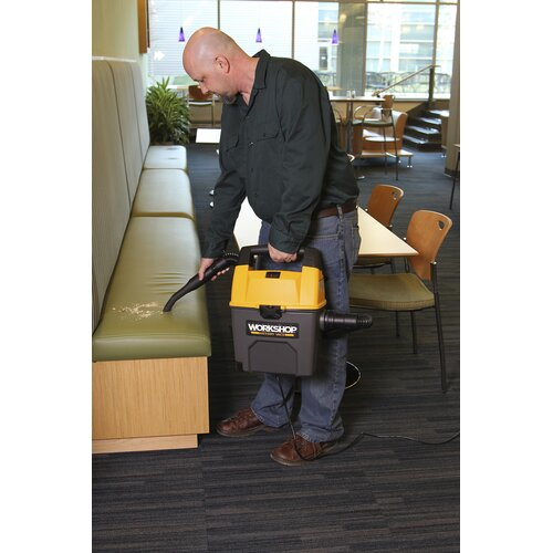 WORKSHOP Wet/Dry Vacs 3 Gal. 3.5 Peak HP Portable Wet/Dry Vac