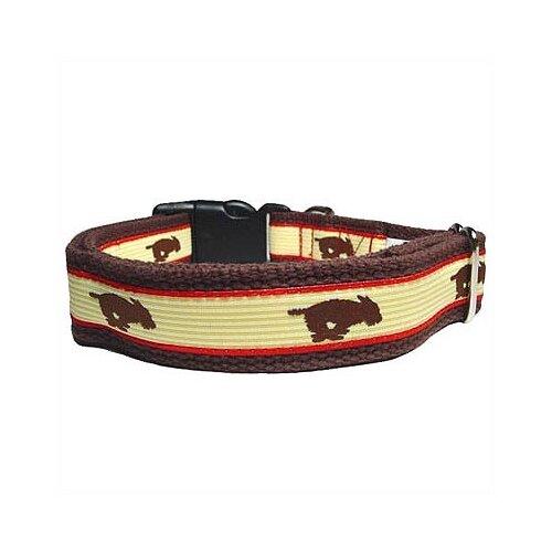 Running Dog Cotton Dog Collar
