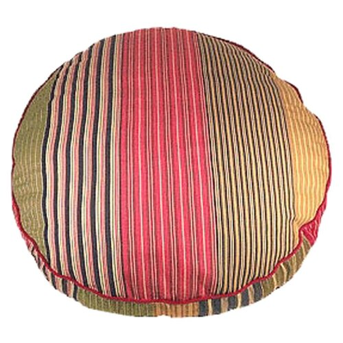 George SF Oxford Stripe Round Dog Pillow