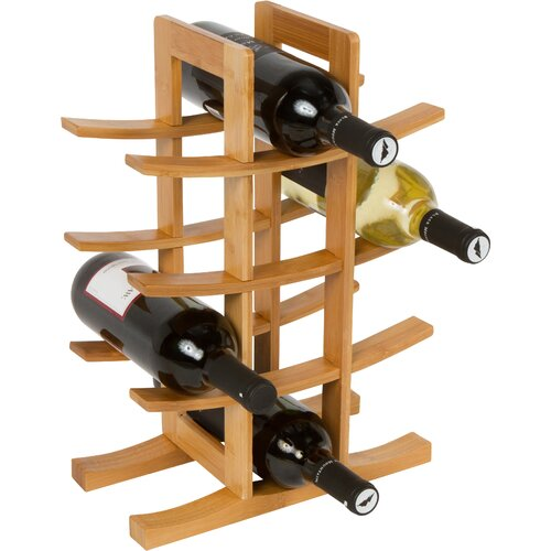12 Bottle Table Top Wine Rack
