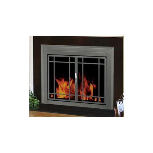 Pleasant Hearth Edinburg Prairie Cabinet Style Fireplace ...