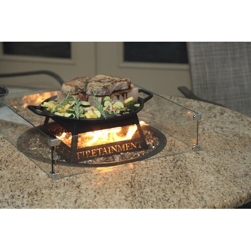 """Firetainment Naples 54"""" Round Fire Table"""