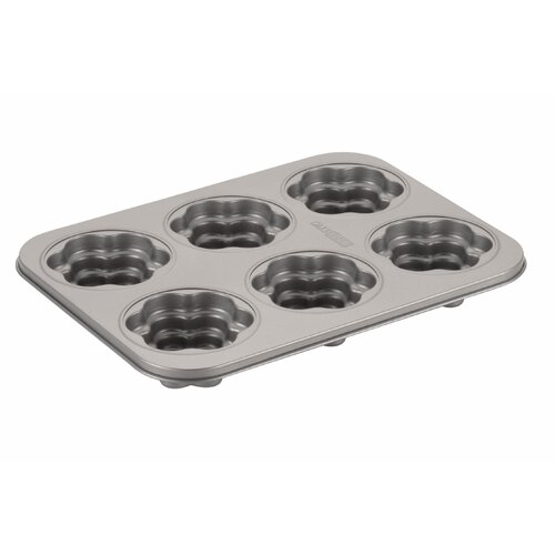 6-Cup Flower Cakelette Pan