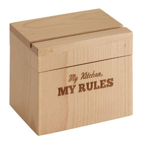 Beechwood Recipe Box