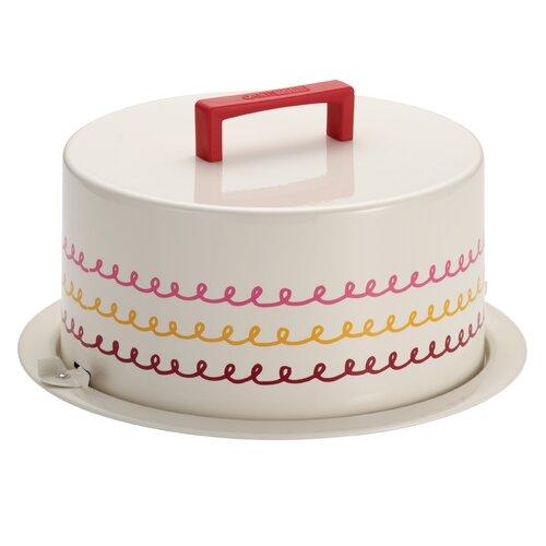 Serveware Metal Cake Carrier
