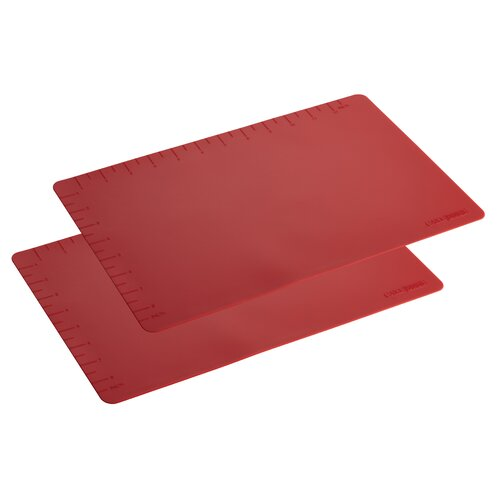 Countertop Accessories 2 Piece Set of Silicone Baking Mat
