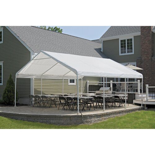 ShelterLogic 18' Wide Super Max Canopy