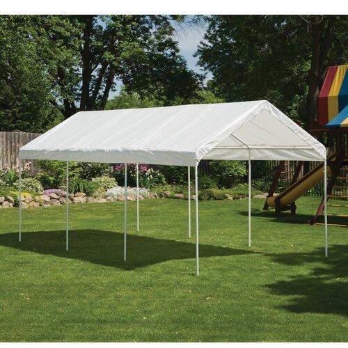 Apartment Patio Tent Shelterlogic 20ft : Video