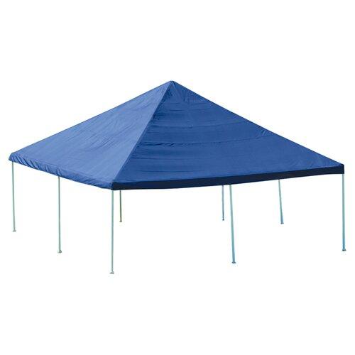 """ShelterLogic 20ft. x 20ft. Decorative Canopy w/ 8 Leg 2"""" Frame"""