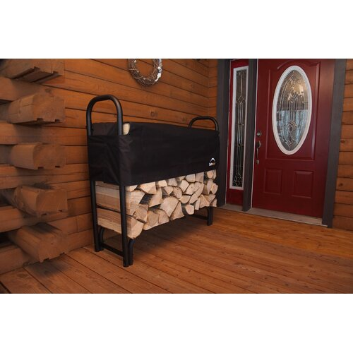 "ShelterLogic 48"" Covered Firewood Rack"
