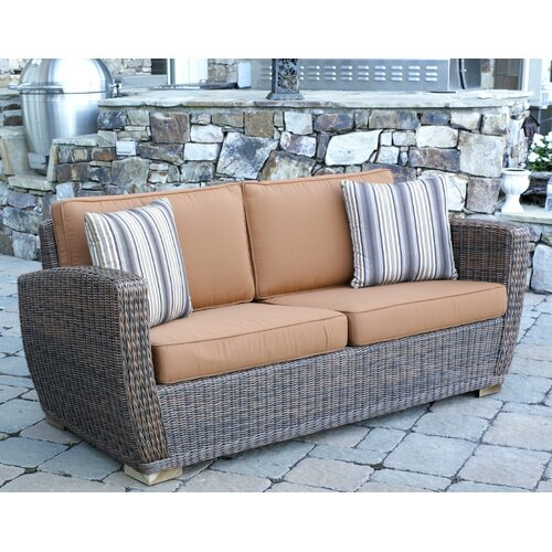 Galveston Loveseat with Cushions