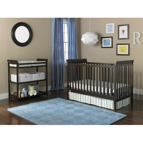 Nursery Furniture Bundle Convertible Crib Set