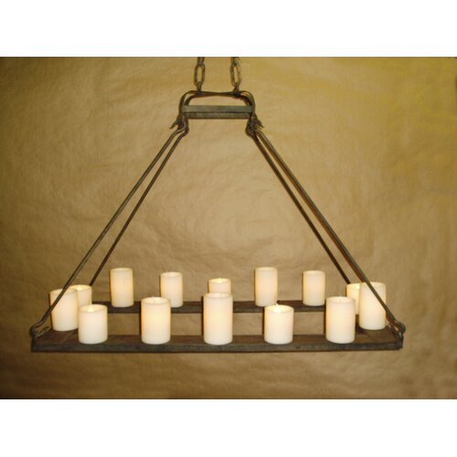 Mallorca Hollowed Candle Electrified Chandelier