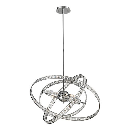 Nulco Lighting Saturn 6 Light Foyer Pendant