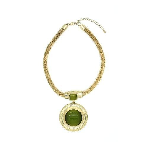 Gold Olivia Gemstone Necklace