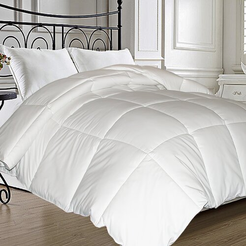 Blue Ridge Home Fashions Natural Feather Down Microfiber Blend Comforter