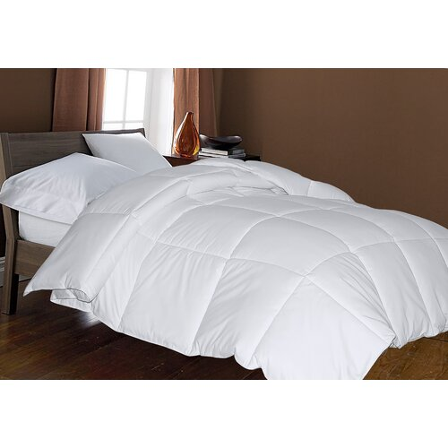 Blue Ridge Home Fashions Microfiber Cover All Season Down Alternative Comforter
