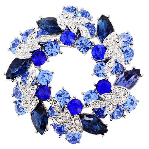 Wreath Crystal Pin Brooch Pendant