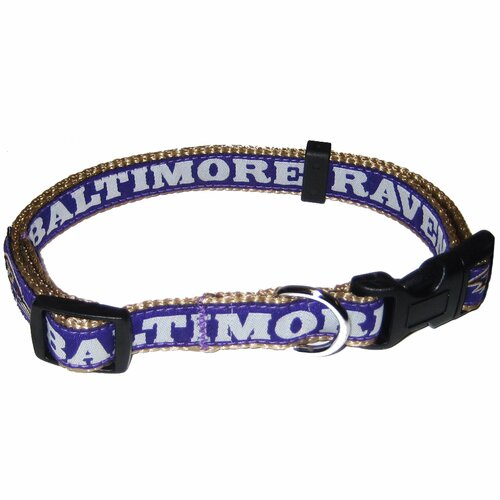 NFL Ribbon Dog Collar