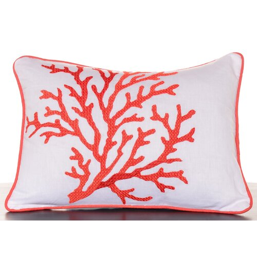 Southern Breeze Embroidered Decorative Pillow