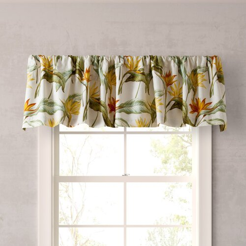Birch Tree Fabric Curtains Bird of Paradise Home