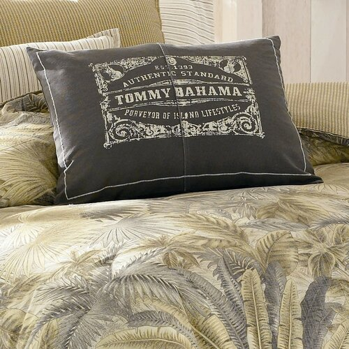 Tommy bahama bedding bahamian breeze logo print decorative Tommy bahama bedding