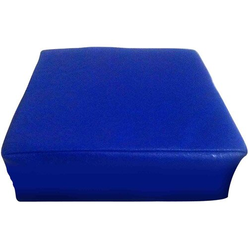 Blue Square Vibrating Childrens Pillow