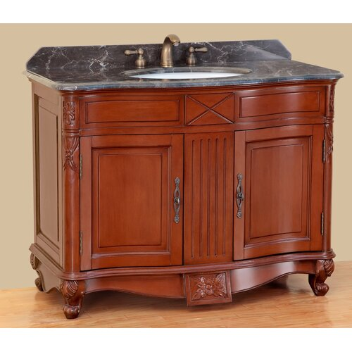 "Bosconi Classic 42"" Single Vanity Set"