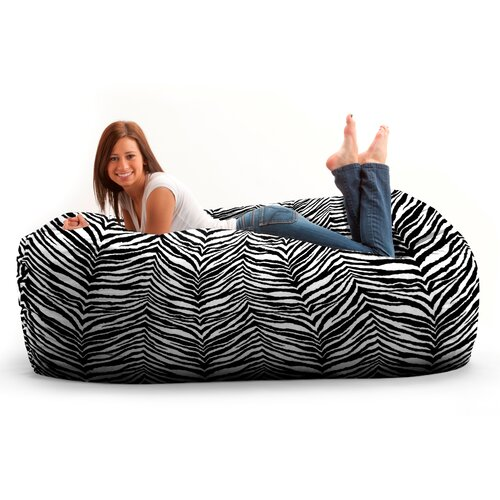 Comfort Research Fuf Six Foot Media Bean Bag Sofa