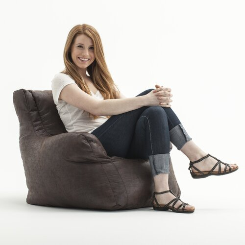 Comfort Research Big Joe Lusso Bean Bag Lounger
