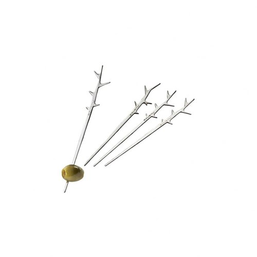 Waiter's Tools Decorative Olive Sticks (Set of 4)