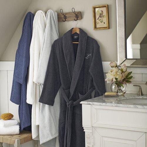 Birch Lane Winchester Robe, Pewter