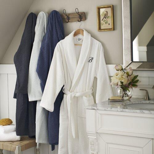 Birch Lane Winchester Robe, White
