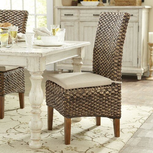 Birch Lane Woven Seagrass Dining Chair & Reviews