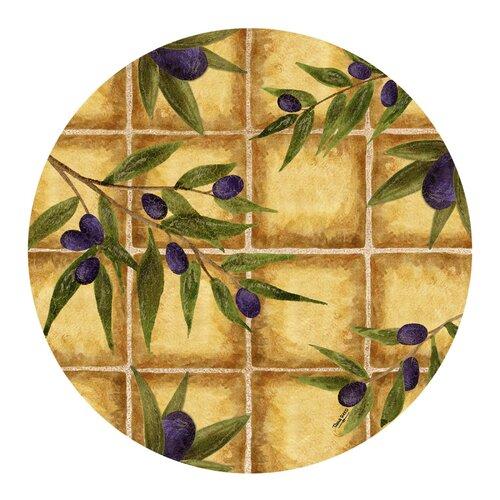 Olive Tiles Coaster (Set of 4)