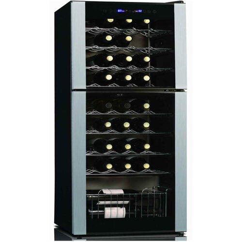 Koolatron 45 Bottle Dual Zone Thermoelectric Wine
