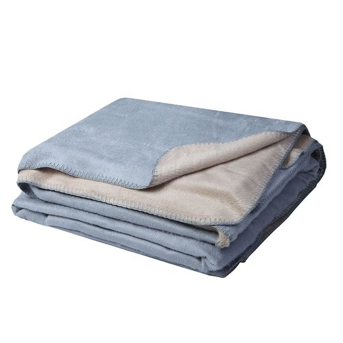 Joey Pure Bamboo Reversible Cot Blanket
