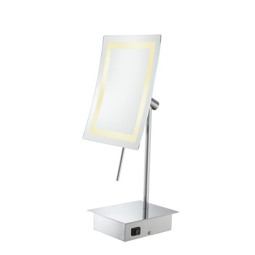 Kimball & Young Single Sided LED Rectangular Minimalist Vanity Mirror