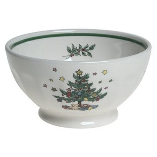 Nikko Ceramics Christtmas Dinnerware Nut Bowl