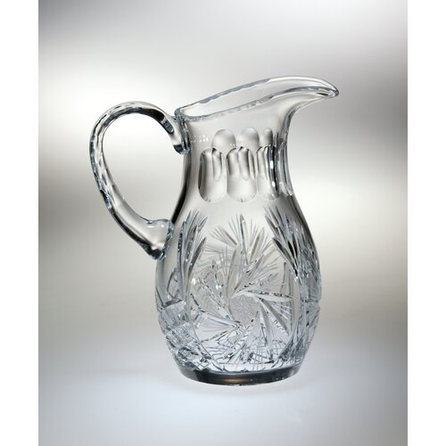 Pinwheel 48 oz. Crystal Pitcher