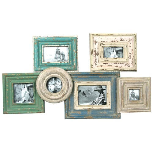 Picture Frame with 6 Spots Wall Plaque
